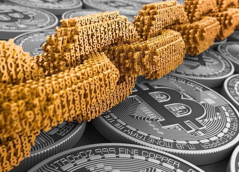 Blockchain mit Kryptowährungen