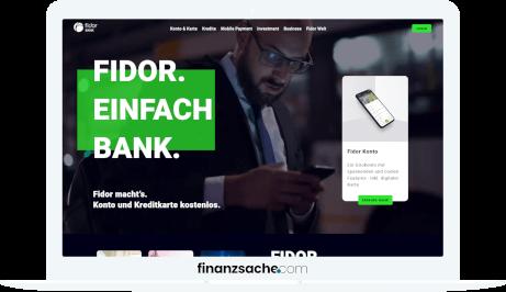 Fidor Website