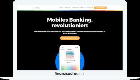 bunq Website