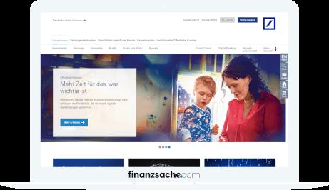 Deutsche Bank Website